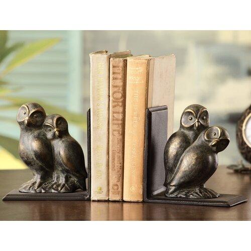 SPI Home Loving Owls Book Ends