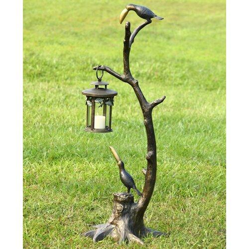 Toucan Pair Aluminum Lantern