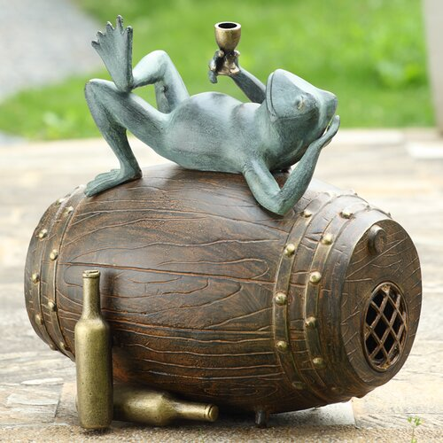 SPI Home Connoisseur Frog Garden Bluetooth Speaker