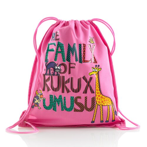 Kukuxumusu Family Drawstring Bag