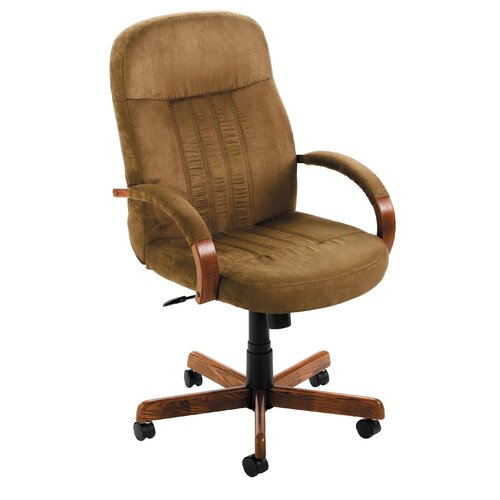 Boss Office Products High-Back Microfiber Executive Chair