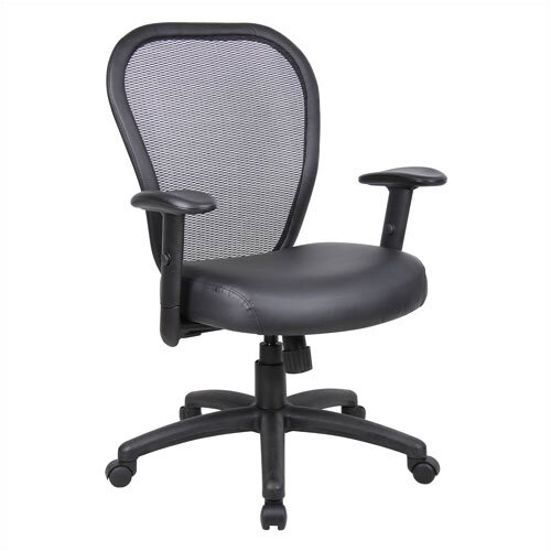 Boss Office Products Professional Mid-Back Mesh Managerial Chair
