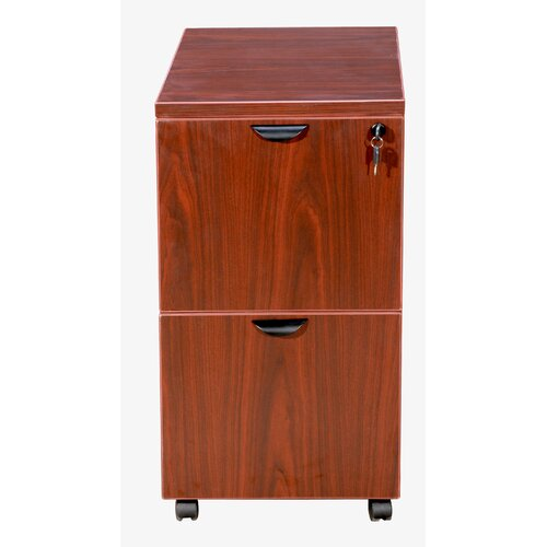 Boss Office Products 2-Drawer Mobile Pedestal