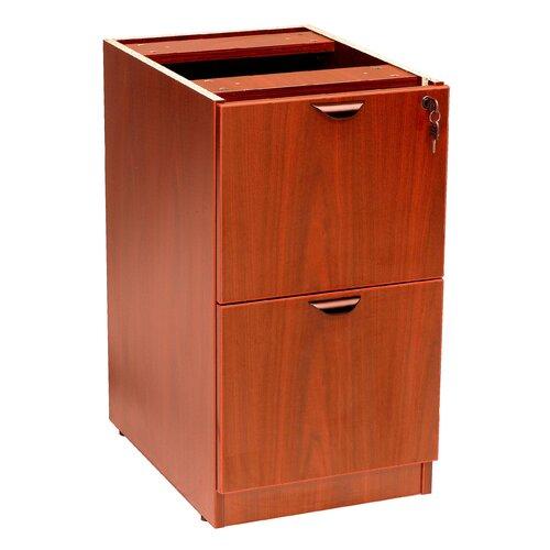 "Boss Office Products Case Goods 28.5"" H x 16"" W Desk Pedestal"