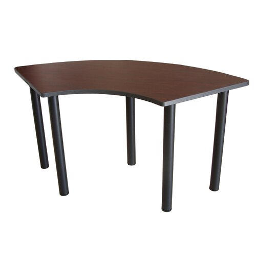 Boss Office Products Training Table Crescent