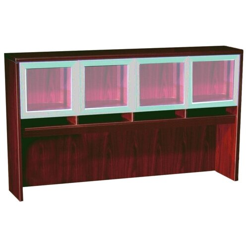 Boss Office Products Hutch with Four Doors