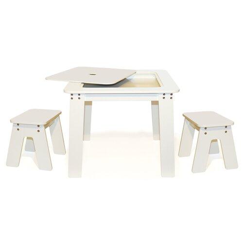 P'kolino Kids 3 Piece Table and Chair Set
