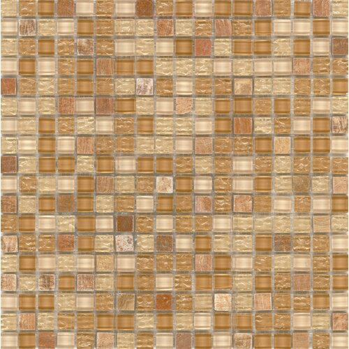 Surfaces Elida Glass Mosaic in Sand Stone