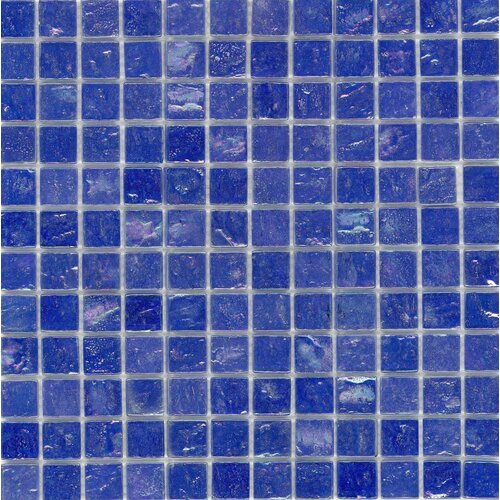 Surfaces Elida Glass Mosaic in Cobalt Oil