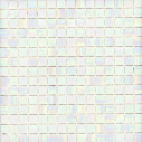 Surfaces Elida Glass Mosaic in Pearl