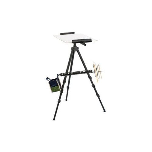 Alvin and Co. Heritage Aluminum Watercolor Easel in Black