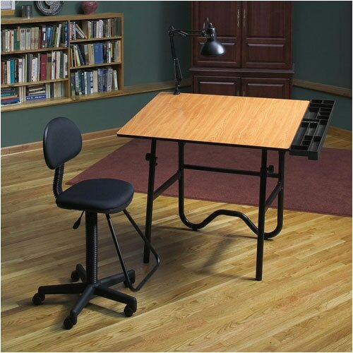 Alvin and Co. Creative Wood Drafting Table System