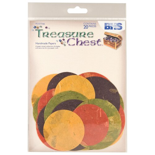 Treasure Chest Circle Diecuts (Set of 20)