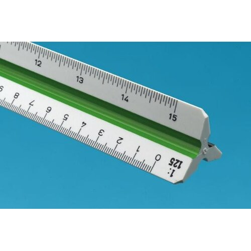 Alvin and Co. Metric Triangular Scale