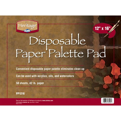 Alvin and Co. Paper Palette Pad