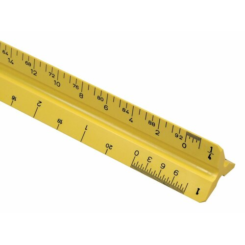 Alvin and Co. High Impact Architect Triangular Scale