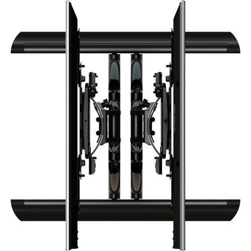 "Crimson AV Hydra Digital Display Dual Monitor Tilt Wall Mount for 32"" - 55"" Flat Panel Screens"