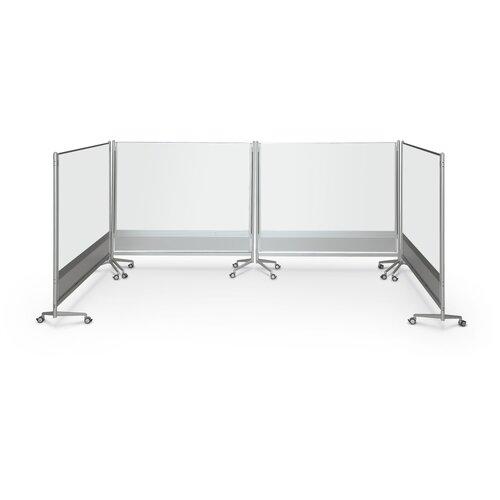 Best-Rite® D.O.C. Partition Dura-Rite 4' x 6' Whiteboard