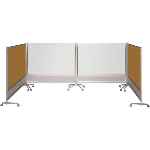 Best-Rite® D.O.C. Partition Dura-Rite 6' x 8' Whiteboard