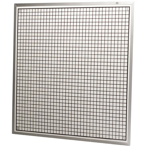Best-Rite® Rectangular Coordinate 4' x 4' Whiteboard