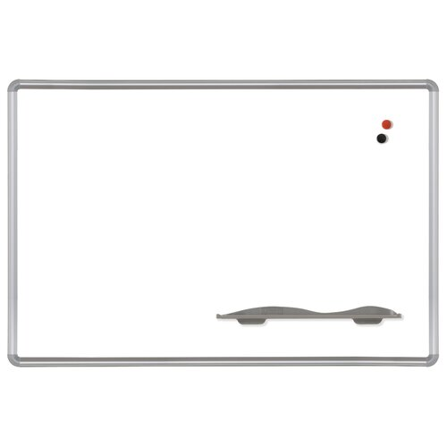 Best-Rite® Porcelain Steel Markerboard with Presidential Trim