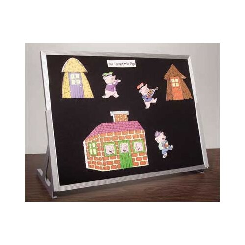 Best-Rite® Table Top Flannel Bulletin Board