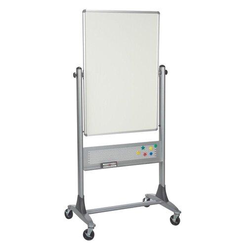 Best-Rite® Mobile Platinum Lumina Reversible Whiteboard