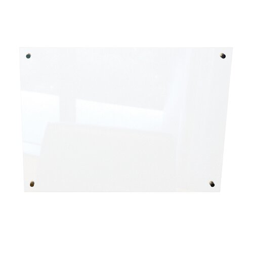 "Best-Rite® Enlighten 1' 6"" x 2'  Glass Board"