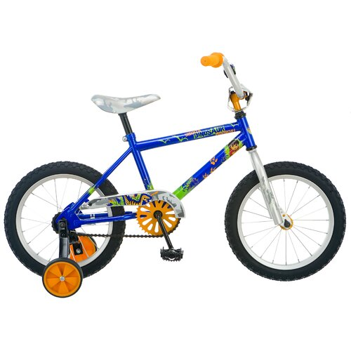 Diego Boy's Dino Bicycle with Training Wheels