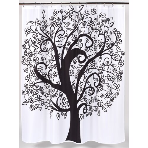 Tree of Life Polyester Shower Curtain