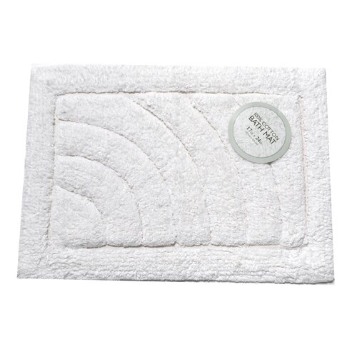 Carnation Home Fashions Cotton Single Sided Bath Mat