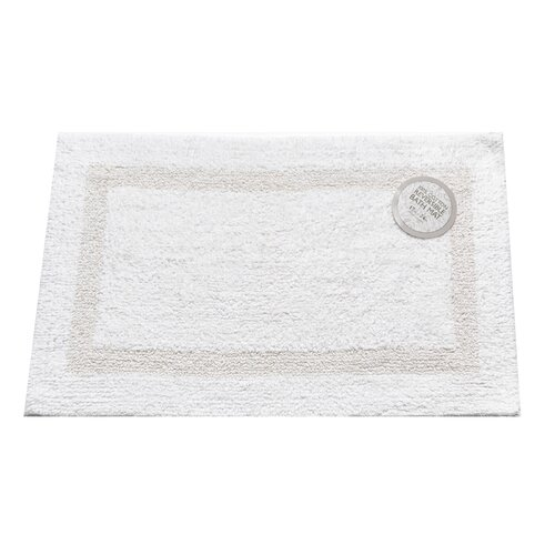 Carnation Home Fashions Bath Mat Cotton Reversible Bath Mat