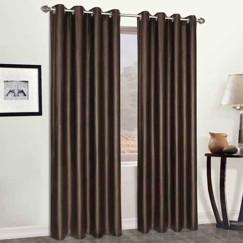 United Curtain Co.  Grommet Curtain Curtain Single Panel