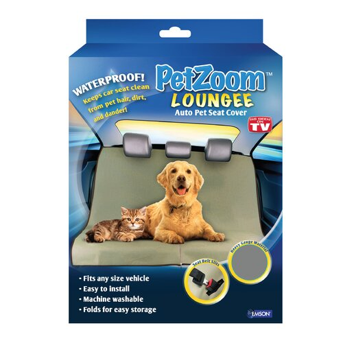 PetZoom Loungee Auto Dog Seat Cover