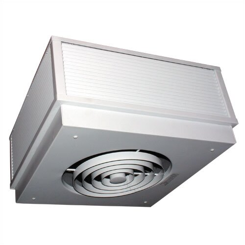 TPI Commercial Recess 17,000 BTU Amp Fan Forced Ceiling Mount Electric Space Heater