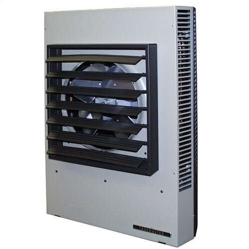 TPI Horizontal / Vertical 341,000 BTU Fan Forced Wall Space Heater with Thermostat