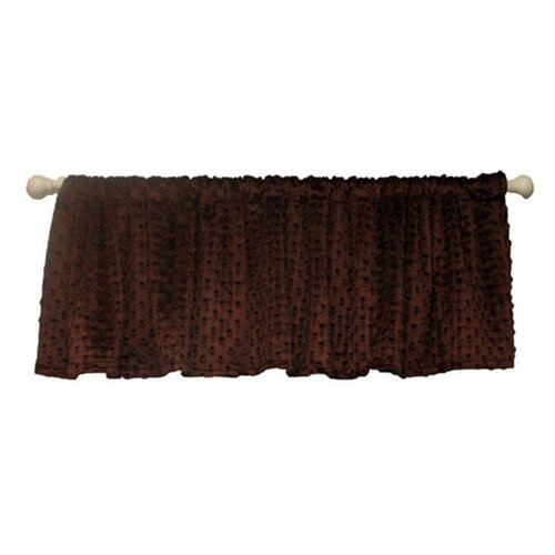 "Ozark Mountain Kids Chocolate Mint 54"" Curtain Valance"