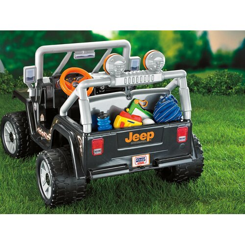 Fisher-Price Power Wheels 12V Battery Powered Jeep
