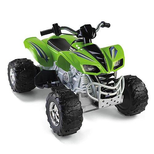 Fisher-Price Power Wheels Kawasaki KFX 12V Battery Powered ATV