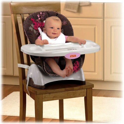 Mocha Butterfly SpaceSaver High Chair
