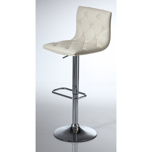 Wilkinson Furniture Zenith Adjustable Bar Stool with Step