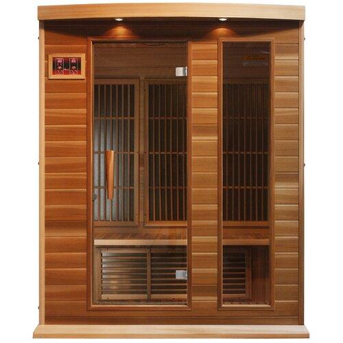 Maxxus 3 Person Carbon FAR Infrared Sauna