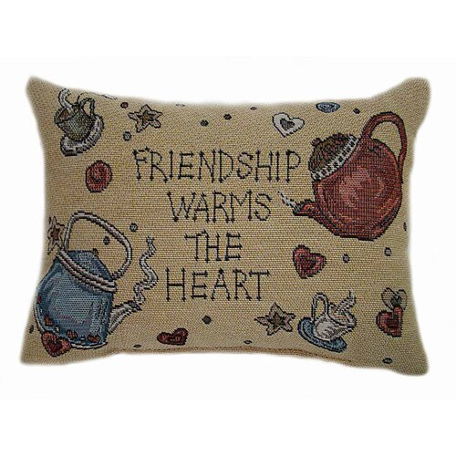 American Mills Teakettle Friends Pillow