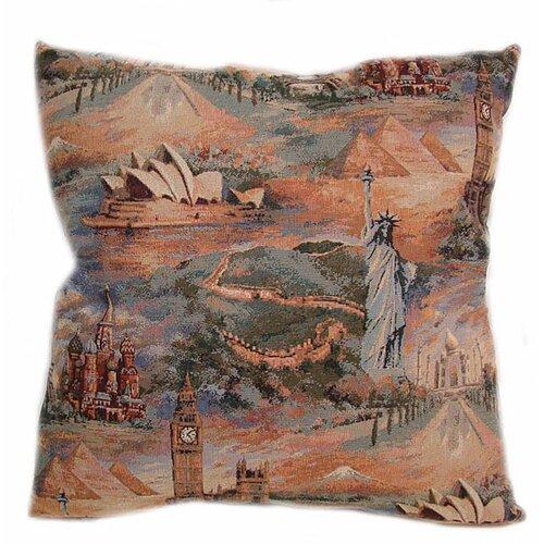 American Mills Wonderful World Pillow