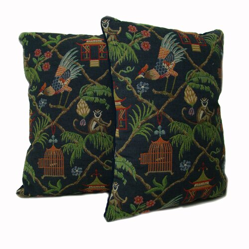 American Mills Jungle Pillow