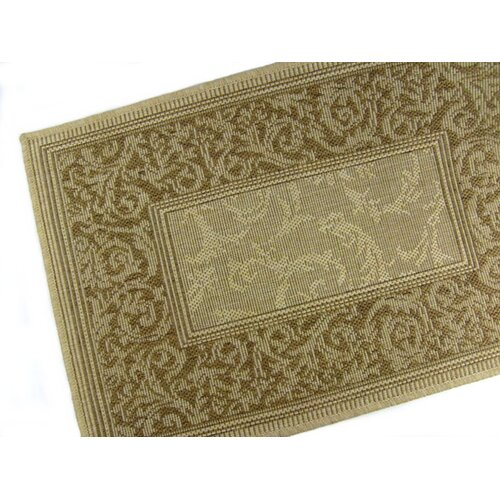 American Mills Entwined Honey/Chocolate Indoor/Outdoor Rug