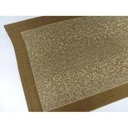 Leopard Chocolate Indoor/Outdoor Rug