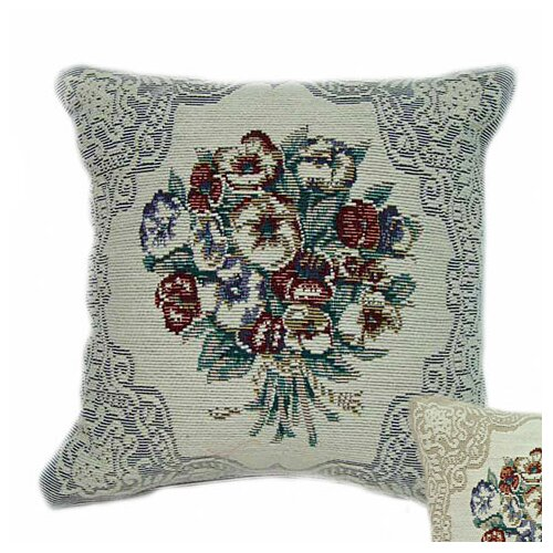 American Mills Pansies Pillow