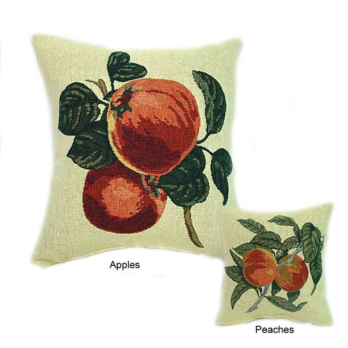 American Mills Peaches Pillow