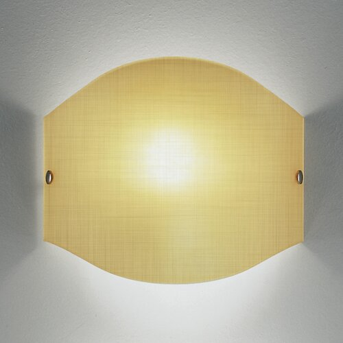 Leucos Tessuto Piccola 1 Light Wall Light